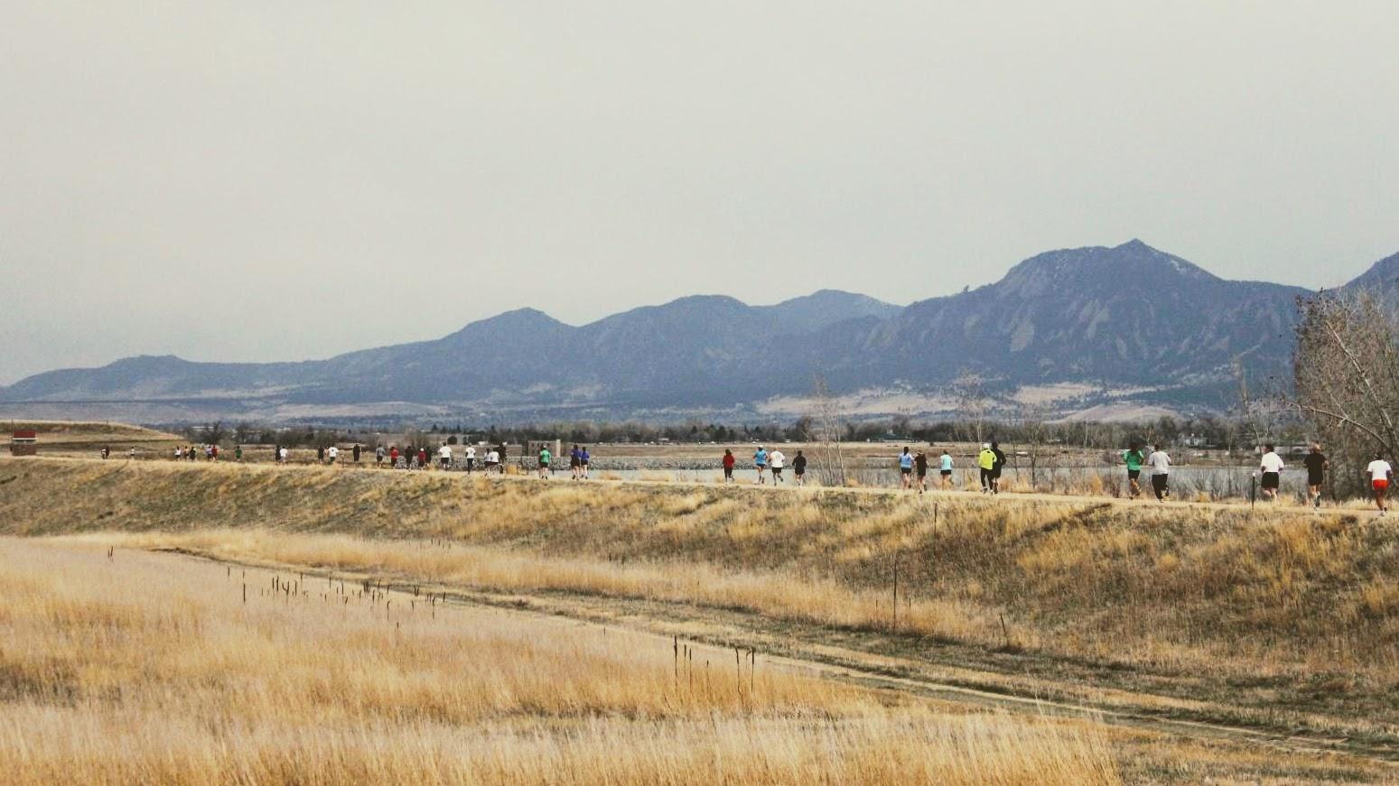 5k race in Boulder, CO
